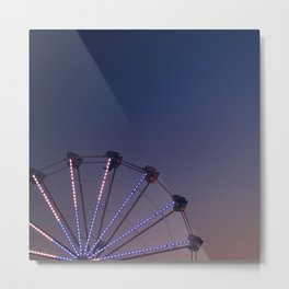 night carnival Metal Print