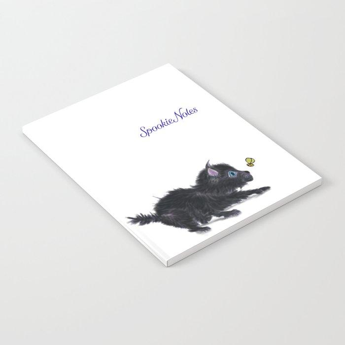 Spookie in the Flower #1 Notebook