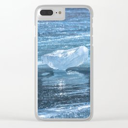 Ice diamond of Baikal Clear iPhone Case