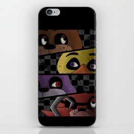 Freddy and Friends are Ready! iPhone Skin