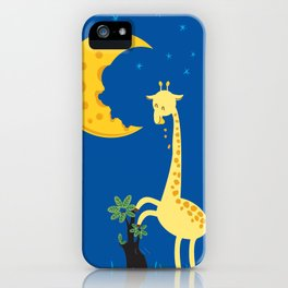 The Delicious Moon Cheese iPhone Case