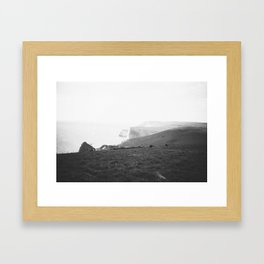 Jurassic Coast 2 Framed Art Print