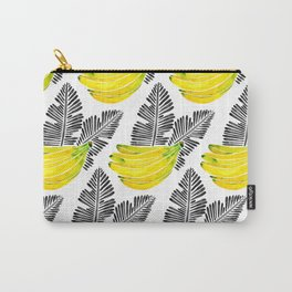 Banana Bunch – Yellow & Black Palette Carry-All Pouch