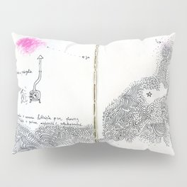 diary // milky way Pillow Sham
