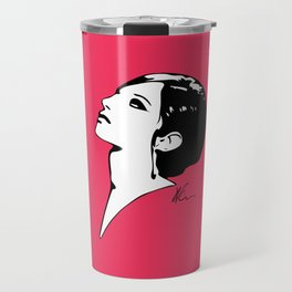 Barbra Streisand - Barbra - Pop Art Travel Mug