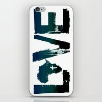 reading iPhone & iPod Skins featuring Reading by Michaëlis Moshe