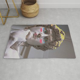 Drag Queen David, Pop-Art Rug
