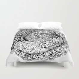 Mobius Twist Duvet Cover