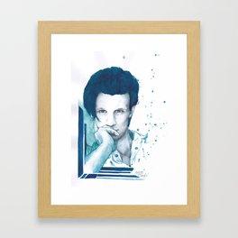 Matt Smith Framed Art Print