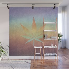Cannabis sativa Wall Mural