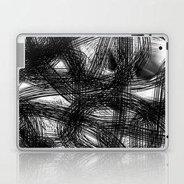 Abstract black white Design Laptop & iPad Skin