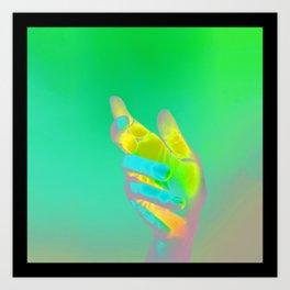 Hand Aesthetic 3 Art Print