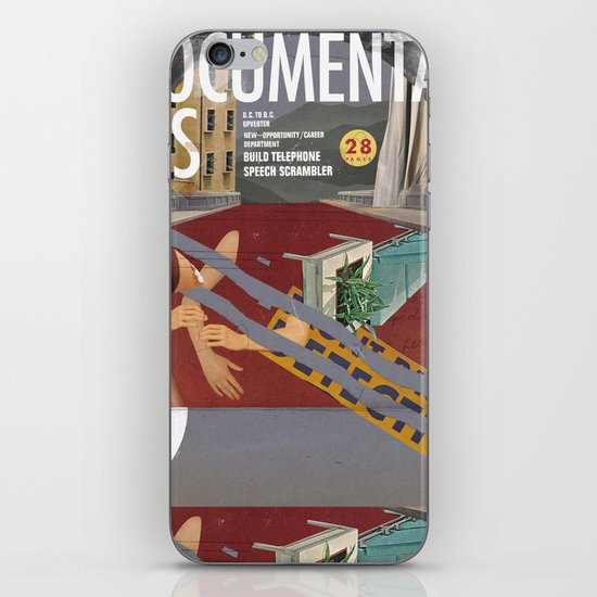 Vans and Color Magazine Customs iPhone & iPod Skin