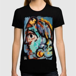 Woman and bird T-shirt