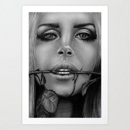 + Summertime Sadness + Art Print