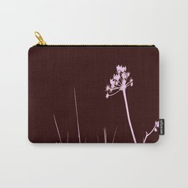 SEA PLANTS PURPURE&BROWN Carry-All Pouch
