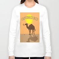cancer Long Sleeve T-shirts featuring Cancer by Tony Vazquez