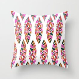 Brooklyn feathers Throw Pillow