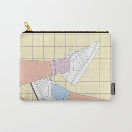 Spring Day Illustration Carry-All Pouch