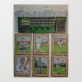 Kansas City Baseball Since 1884 Poster