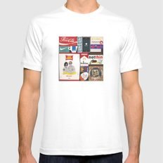 Consumption of goods Mens Fitted Tee White MEDIUM