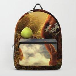 rabbit fighter Backpack