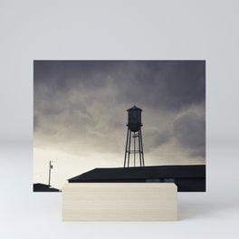 Water Tower Mini Art Print