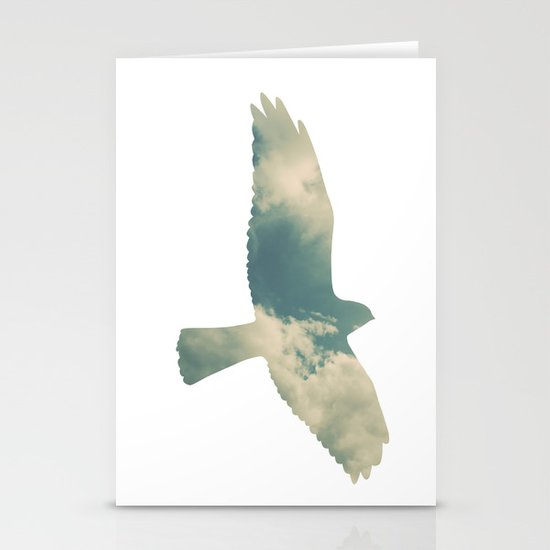 Cloud Bird Stationery Cards