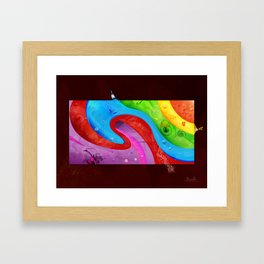 Art is Everywhere Framed Art Print