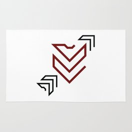 Arrow to your heart Rug