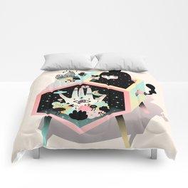Mystery Garden Comforters