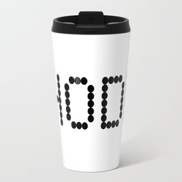 HODL YOUR CRYPTOCURRENCY BITCOIN LITECOIN RIPPLE ETHEREUM Travel Mug