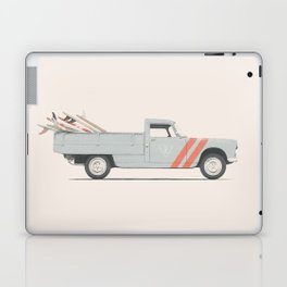 Surfboard Pick Up Van Laptop & iPad Skin