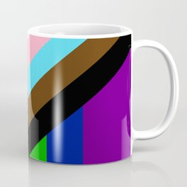 LGBTQ+ Pride Flag Inclusive (LGBTQ+ Pride, Gay Pride) Coffee Mug