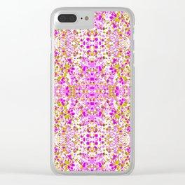 Royal Visa Pink Clear iPhone Case
