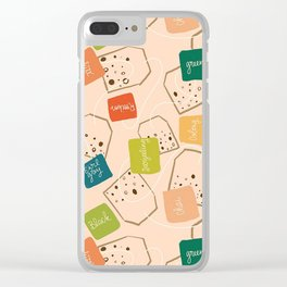 A Tangle of Teas Clear iPhone Case