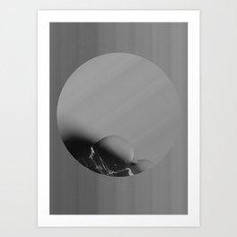 Strange Moons - 4 Art Print