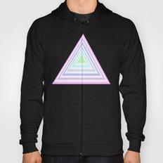 pastel rainbow triangles Hoody