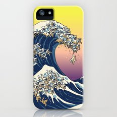 The Great Wave Of  Cat Slim Case iPhone (5, 5s)