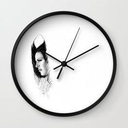LANA'S FEATHER Wall Clock