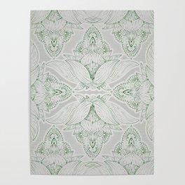 Flower Mandala 12 Poster