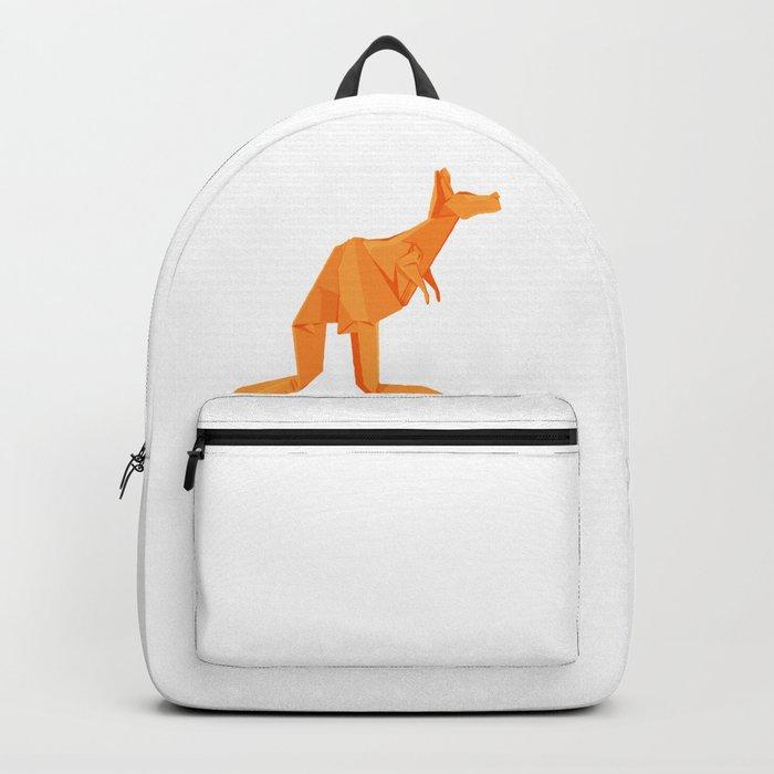 Origami Kangaroo Backpack