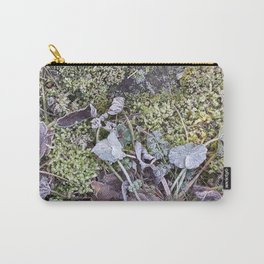 Frozen Foliage Carry-All Pouch
