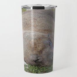 Fur Seal sleeping Travel Mug