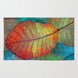 Fallen leaves II Rug