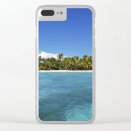 carribean dream Clear iPhone Case