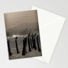 Columbia River Cormorants Birds Stationery Cards