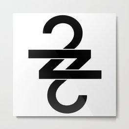 22 (Over Soon) Metal Print