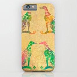 Lottinky Greyhounds - Summer Garden iPhone Case