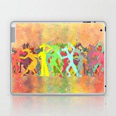 Conga Line Unicorns Laptop & iPad Skin